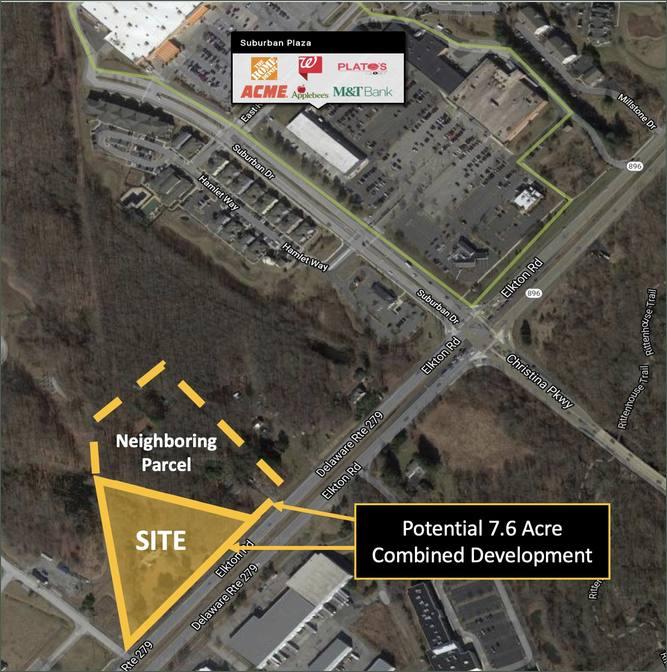 3.66 Acre Newark, DE Parcel For Development