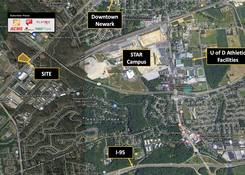 4.18 Acre Newark, DE Parcel For Development: